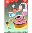 confectioner of sweet baked vector image
