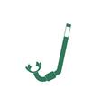 Diving Snorkel Icon vector image vector image