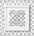 photo frame mockup vector image vector image