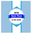 best mom vector image vector image