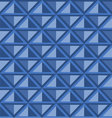 geometric seamless pattern with rhombuses vector image vector image