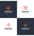 inspirational gradient logo bundle vector image