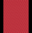 Red weave texture synthetic fiber geometric seamle vector image vector image