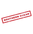 Southern Ocean Rubber Stamp vector image vector image