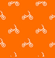 tricycle pattern seamless vector image vector image