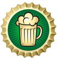 Beer caps vector image