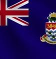 CaymanIslands flag vector image vector image