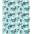 Seamless futuristic abstract pattern vector image vector image