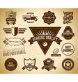 Vintage labels Collection 13 vector image vector image
