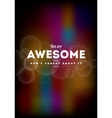 You are awesome typography vector | Price: 1 Credit (USD $1)