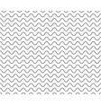 black wave line pattern black seamless wavy line vector image