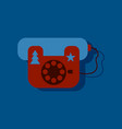 flat icon design collection landline phone in vector image vector image