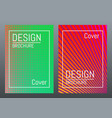 modern cover design color brochure template vector image vector image