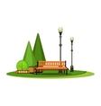 Park Recreation Area vector image