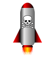 Poison rocket vector image vector image