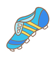A football boot vector image vector image