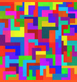 abstract colorful background with geometric shapes vector image vector image