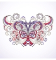 colorful abstract butterfly vector image