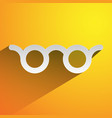 colorful glasses vision optician optometry vector image vector image