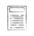 figure business paper document work information vector image vector image