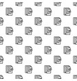 graph paper pattern seamless vector image vector image