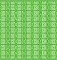 money flat seamless pattern vector image vector image