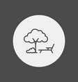 park icon sign symbol vector image vector image