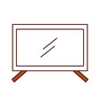 plasma tv isolated icon vector image