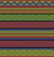 rasta aztec pattern vector image