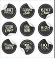 sale price gray tag collection vector image vector image