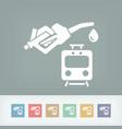 Train fuel icon