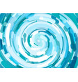 abstract background with waves of fresh water vector image vector image