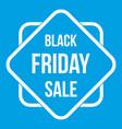 Black friday sale sticker icon white