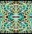 colorful elegance floral seamless pattern vector image vector image