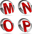 Company symbols vector image vector image