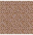 Dark brown digital seamless pattern background vector image vector image