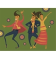 Hipsters retro party vector image vector image
