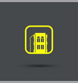 smart home icon exclusive symbols vector image