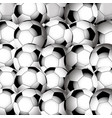 soccer football closeup background vector image vector image