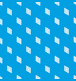 square window frame pattern seamless blue vector image vector image