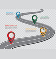 street road map on checkered background business vector image vector image