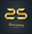 25 anniversary night party - electronic music vector image vector image