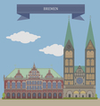 Bremen vector image