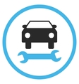 Car Repair Flat Icon vector image vector image