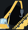 construction trucks design vector image vector image