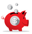 Piggy Bank - Pig Money Bank vector image vector image