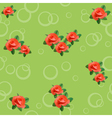rose seamless texture vector image vector image