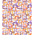 Seamless bright fun abstract pattern with squares vector image vector image