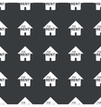 Straight black for rent pattern vector image vector image