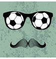 Hipsters glasses vector image